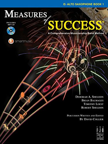 Measures of Success E-flat Alto Saxophone Book (Book 1 Saxophone)