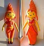 Adventure Time inspired - Flame Princess, handmade plush - Best Reviews Guide
