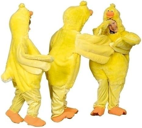 Disfraz de pollo amarillo de naranja para niños, tamaño 98 – 122 ...