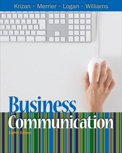 Bundle: Business Communication, 8th + WebTutor on Blackboard Printed Access Card