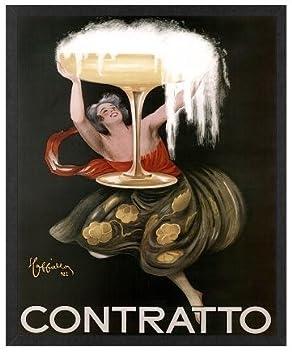 Amazon.com: Art Nouveau Alcohol Arte Leonetto Cappiello ...