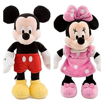 Disney MICKEY MOUSE e MINNIE Peluche Pequeño Set 20cm La Casa de Mickey Mouse: Amazon.es: Juguetes y juegos