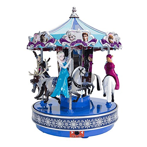 - Disney's Frozen Animated Musical Carousel by Mr. Christmas Overstock Sale