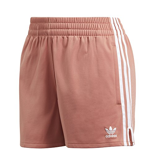 Adidas Classic Shorts - adidas Originals Women's 3 Stripes Short, Ash Pink, M