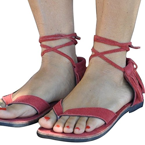 Zapatos De Flip Verano Zapatos De Lace Zapatos Verano Casuales Moda Sandalias up Zapatos Casual Borlas Flop Sandalias Mujeres Elegant Playa Romanoas Jianhui pEqg6Ow7