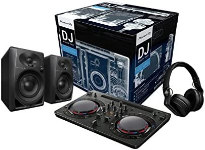 Pioneer Dj – Starter Kit para DJ (incl. ddj-wego4 negro, 2 x DM-40 ...