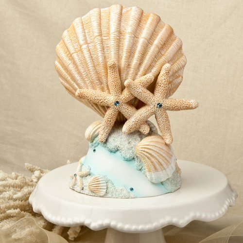 Life `s a Beach Collection cake (Beach Themed Cake Toppers)