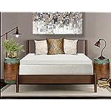 PuraSleep SleepWise Copper Comfort Memory Foam Mattress Topper 2.5 Thickness, White, Twin XL