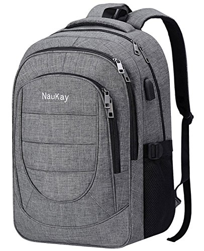 Travel Laptop Backpack,Business Durable Computer Backpack wi