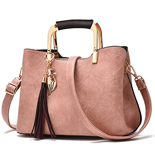 Eysee - Leather Bag Pink Woman