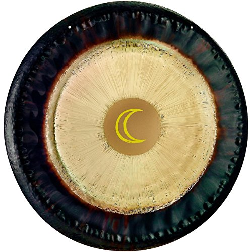 Sonic Energy  Sidereal Moon Planetary Tuned Gong, 24-Inch - Meinl G24-M-SI