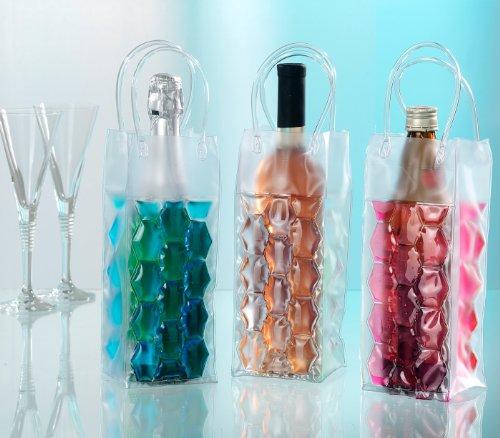 GEL-FLASCHENKÜHLER*KALTE GETRÄNKE COOL PRÄSENTIERT*Perfekt zum Kühlen einzelner Flaschen-Als orginelle Geschenkverpackung
