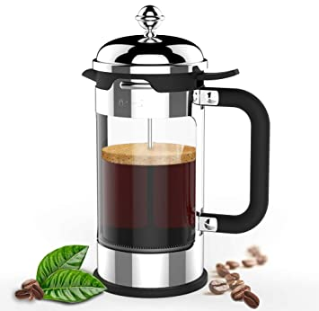 Amazon.com: Cafetera francesa, 1 litro, 34 oz, acero ...