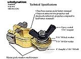 WindyNation 2 Pairs Brass Marine Grade Battery