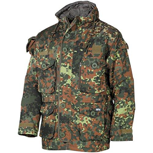 (MFH Men's Jacket Smock Flecktarn Size M)