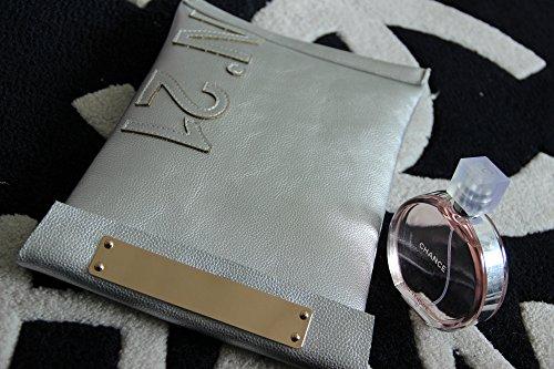 femme Pochette silver M Other pour 4XfByqc0