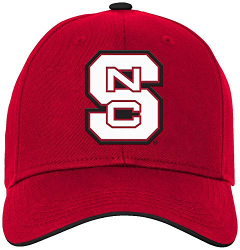 - NCAA by Outerstuff NCAA North Carolina State Wolfpack Kids & Youth Boys Basic Structured Adjustable Hat, Red, Kids One Size