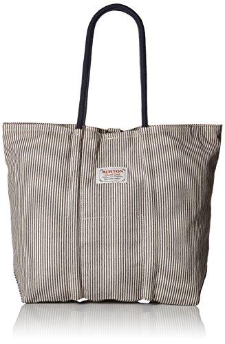 Blue Stripe Rambler Backpack (Burton Unisex Tote Bag, Ticking Stripe)
