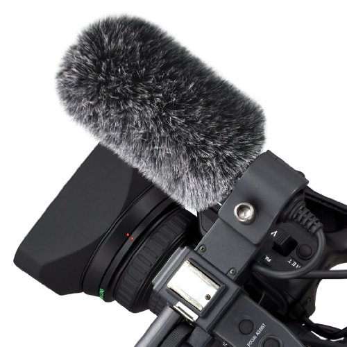 Micover Slipover Windscreen for Sony ECM-NV1, ECM-XM1 (Shotgun Microphone) - Micover Windscreen