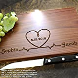 Personalized Cutting Board, Custom Keepsake, Engraved Serving Cheese Plate, Wedding, Anniversary, Engagement, Housewarming, Birthday, Corporate, Closing Gift #214