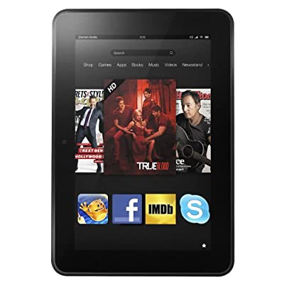 """Certified Refurbished Kindle Fire HD 8.9"""" 4G LTE Wireless, Dolby Audio, Dual-Band Wi-Fi, 64 GB - Includes Special Offers"""