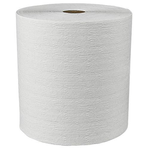 Scott Essential (formerly Kleenex) Hard Roll Paper Towels (50606) with Premium Absorbency Pockets, White, 6 Rolls / Case, 3,600 feet - Same Kleenex quality, now Scott branded by Kleenex