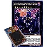YuGiOh : NUMH-EN027 1st Ed Number 15: Gimmick Puppet Giant Grinder Secret Rare Card - ( Number Hunters Yu-Gi-Oh! Single Card )