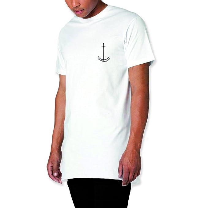 VIENTO Paper Ship Pocket Camiseta con Bolsillo para Hombre K0kTRA