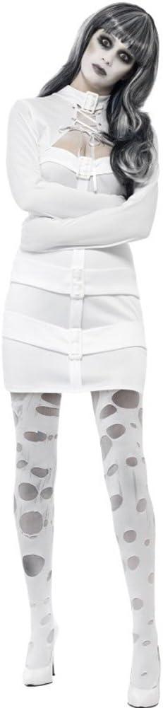 Disfraz de Psicópata en Camisa de Fuerza para Mujer