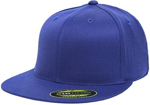 Flexfit Premium Flatbill Cap - Fitted 6210 - Large/X-Large (Royal) (Crown Royal Cap)