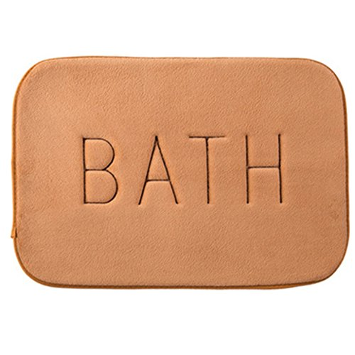 Absorbent Slip-resistant Pad Bathroom Shower Bath Mats Bath Toilet Mat Area Rugs Carpet Doormat  ...