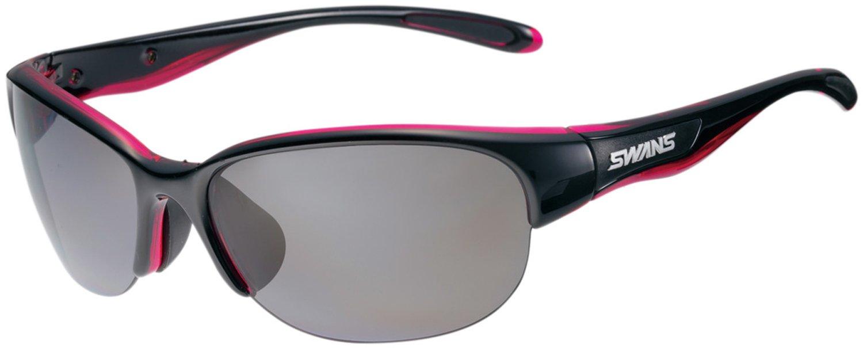 SWANS(スワンズ) 日本製 スポーツ サングラス ルナ 女性向け LUNA (ゴルフ テニス ランニング アウトドア 用) B00VS8XWDK ブラック×ピンク ブラック×ピンク