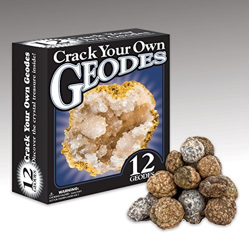 New launch Uncover with Dr. Cool Crack Your Personal Geodes - 12 Wonderful Crystal Stuffed Rocks!  Opinions