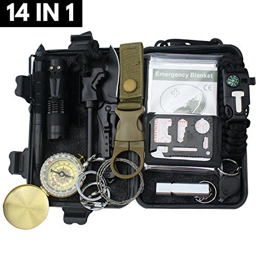 Emergency Survival Kit Camping H...