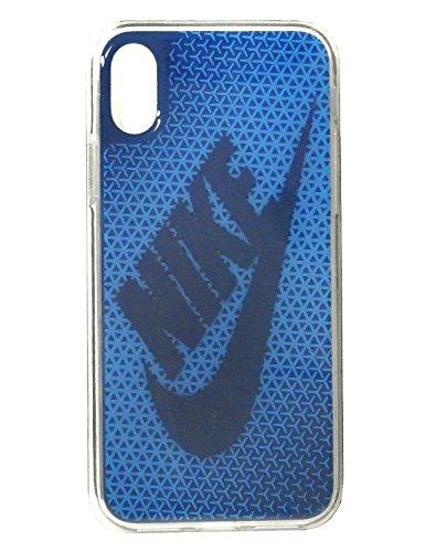 NIKE(ナイキ) グラフィック スウッシュ iPhoneX ケース DG0027-918 シグナルブルー/ジムブルー