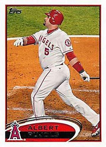 Albert Pujols Baseball - 2012 Topps #331 Albert Pujols Angels MLB Baseball Card NM-MT