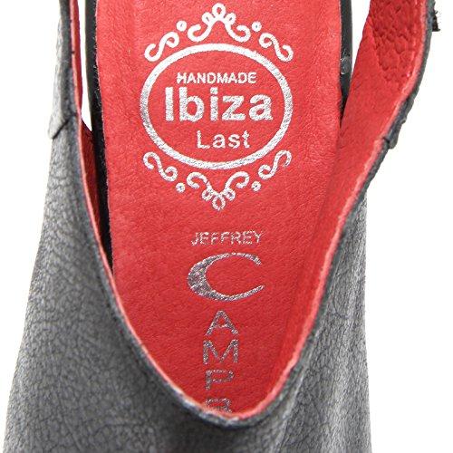 86534 sandalo JEFFREY CAMPBELL QUEBEC scarpa donna shoes women Nero