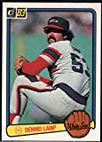 Baseball MLB 1983 Donruss #165 Dennis Lamp White Sox