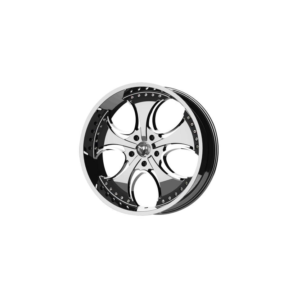 KMC Wheels Venom KM7552 Chrome Finish Wheel (20x8.5/6x139.7mm)