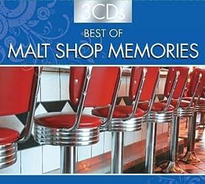 BEST OF MALT SHOP MEMORIES (3 CD Set) Box set Edition by Various (Original Artist re-recording) (2011) Audio CD