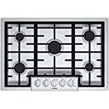 "Bosch NGM8055UC 800 30"" Stainless Steel Gas Sealed Burner Cooktop"