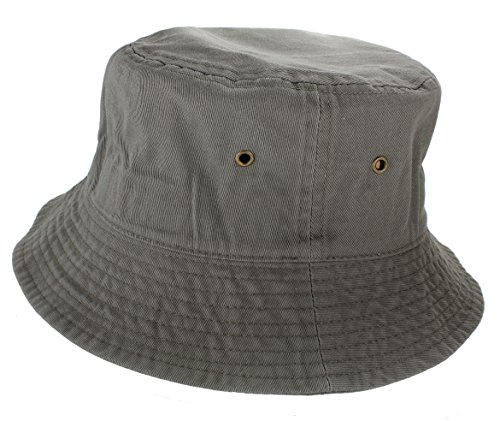 Gelante-100-Cotton-Packable-Fishing-Hunting-Sunmmer-Travel-Bucket-Cap-Hat