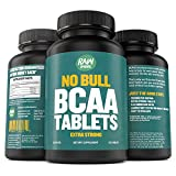Raw Barrel's – Pure BCAA Tablets – SEE RESULTS OR YOUR MONEY BACK – 120 Pills – EXTRA STRONG 1000mg Per Tablet – 2:1:1 Branched Chain Amino Acid Ratio – *FREE* digital guide Review