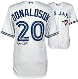 Josh Donaldson Toronto Blue Jays Autographed White Majestic Jersey - PSA/DNA Certified - Autographed MLB Jerseys