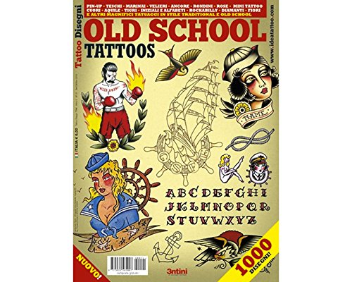 Old School Design 64-page Tattoo Flash Book