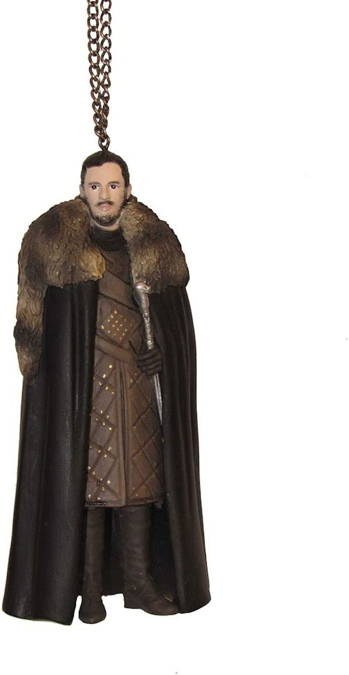 Kurt Adler 5-Inch Game of Thrones Jon Snow Christmas Ornament