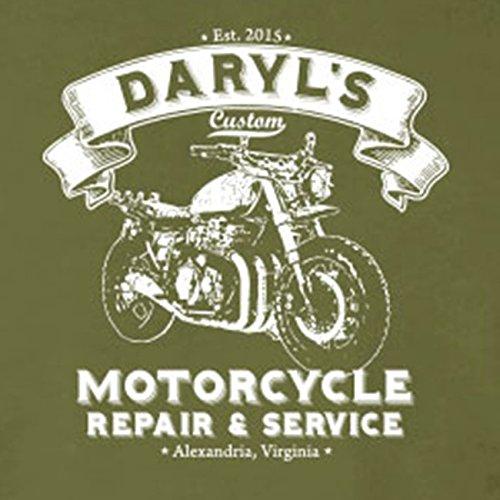 Daryls Motorcycle Service - Stofftasche / Beutel Schwarz