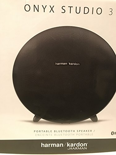 Harman Kardon HKONYXSTUDIO3BLKAM Onyx Studio 3 Wireless Speaker System with...