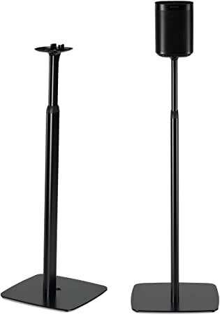 Black Flexson Floor Stand for Sonos One Each