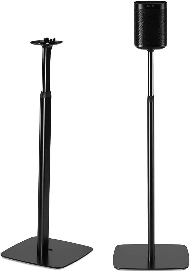Standfuß Ständer für Sonos One OneSL dtron Budenzauber Pfosten 1 weiß